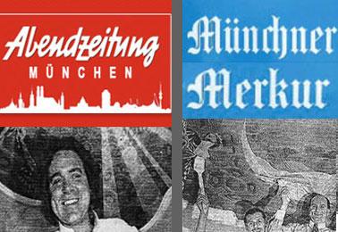 Muenchner Abendzeitung and Muenchner Merkur – Andechser Am Dom