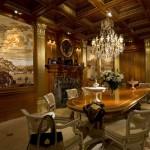 Dreamworlds Dining room murals