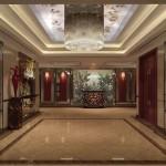 Dreamworlds Hotel Hallway murals