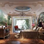 Dreamworlds bedroom mural