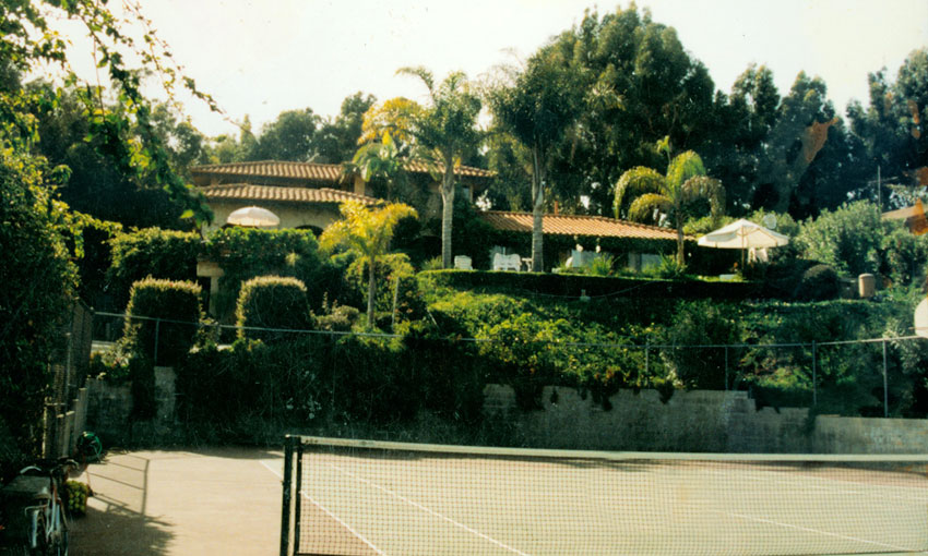 Latzke's residence in Malibu was the former home of Hollywood star Nick Nolte