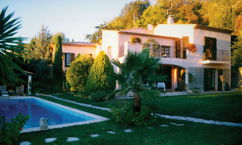 The Latzke's estate in St Pancrace in southern France