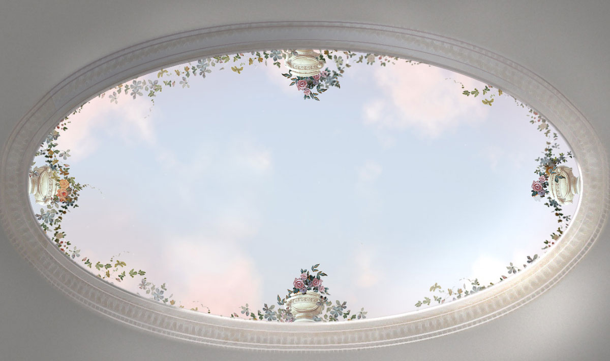 Rainer Maria Latzke Ceiling Paintings