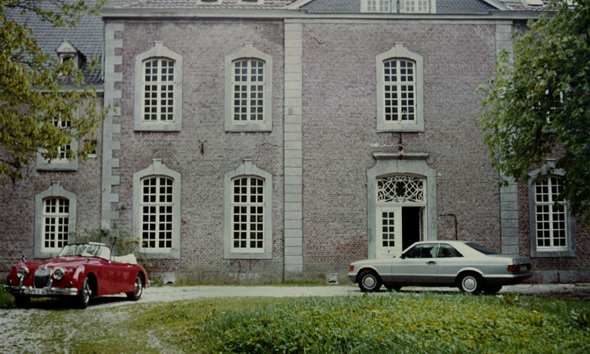 In 1986 Latzke bought Chateau Thal in Belgium, which stood empty for more than 20 years