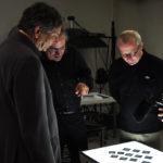 Latzke im Gespräch mit Dr. Stephan Klingen u. Dr. Ralf Peters im Kunsthistorischen Zentralinstitut in München