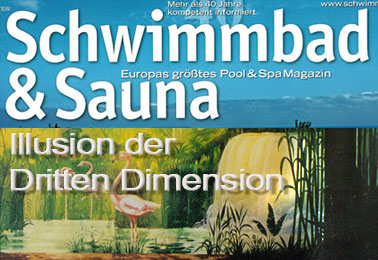 Schwimmbad&Sauna – Illusion of the Third Dimension