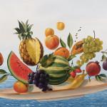 "Fresco-Lithographies: The new ""Schwerelos""-Edition by Rainer Maria Latzke"