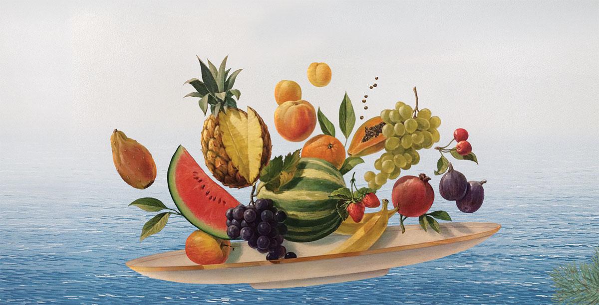 Hoovering Fruits