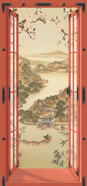 Forbidden City, 36,2 x 77,5 inches